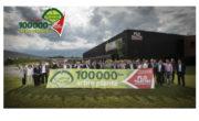 FLO PALETTES : Le 100 000ème arbre planté à GIDY