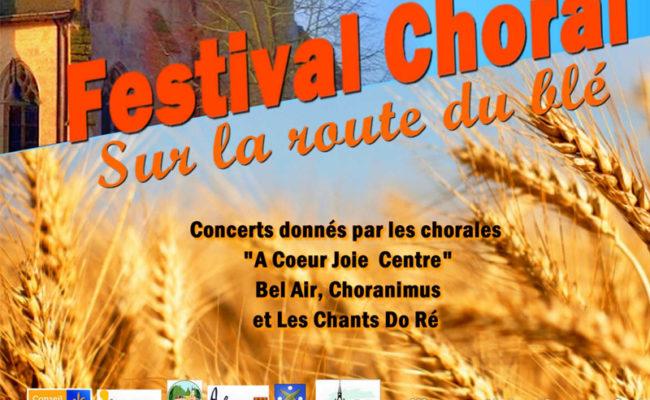 Festival choral sur la route du blé