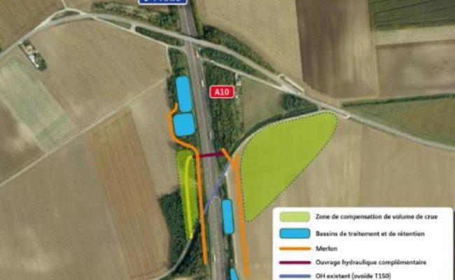 Aménagement de l'A10 au nord d'Orléans : enquête publique sous maîtrise d'ouvrage de l'Etat