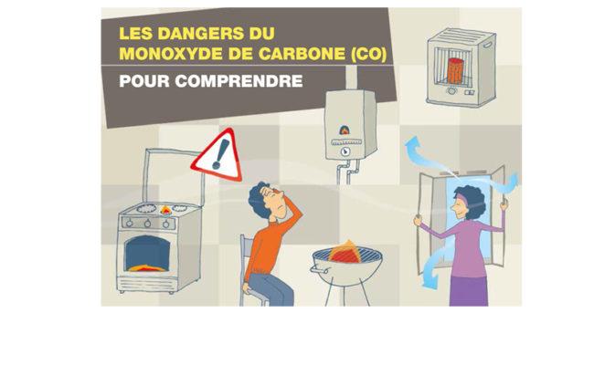 Campagne 2017/2018 de prévention et d'information sur le risque d'intoxication au monoxyde de carbone
