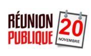 Réunion Publique : Le diagnostic territorial et ses enjeux