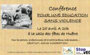 Conférence pour une éducation sans violence